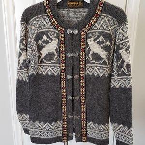 Vintage Winter Nordstrikk Norway Wool Sweater